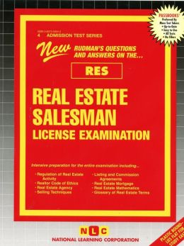Real Estate Salesman License Examination