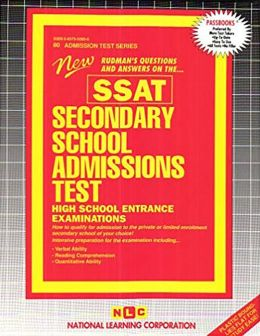 Secondary School Admissions Test High School Entrance Examinations: New Rudman's Questions and Answers on the... SSAT