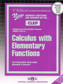 Calculus with Elementary Functions (Introductory Calculus)