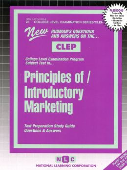 Introductory Marketing: Test Preparation Study Guide