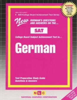 College German SAT II