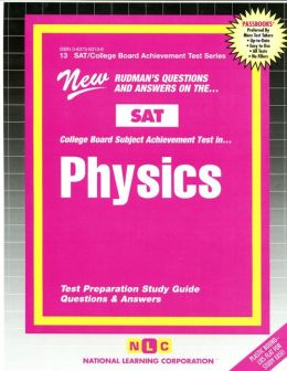 Physics school subject list