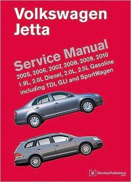 volkswagen jetta a5 service manual 1 9l and 2 0l. Black Bedroom Furniture Sets. Home Design Ideas