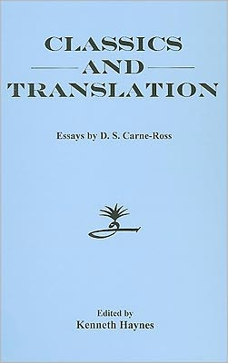 Classics and Translation: Essays