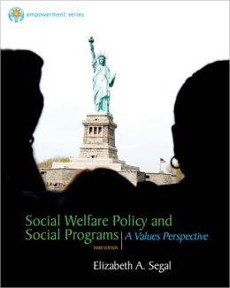 Social Welfare Policy and Social Programs: A Value Perspective