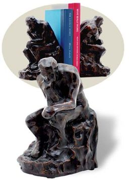 Rodin's Thinker Bookends Set of 2