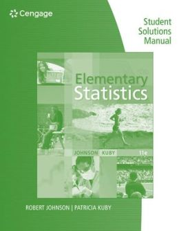 Elementary Statistics Student Solution Manual
