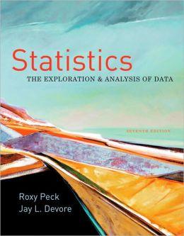 Statistics: The Exploration & Analysis of Data