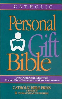 Catholic Personal Gift Bible: New American Bible (NAB) with Revised New Testament and Psalms, burgundy bonded leather, snap closure