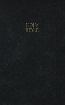 KJV Gift and Award Bible: King James Version, imitation black leather, red-edged, words of Christ in red, with concordance