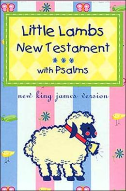 Little Lamb's New Testament with Psalms: New King James Version (NKJV), pastel pink leatherflex