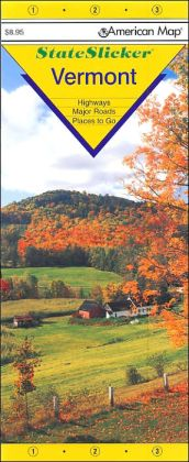 Vermont StateSlicker Map