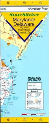 Maryland/Delaware StateSlicker Map