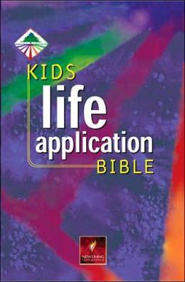 Kid's Life Application Bible: New Living Translation (NLT), thumb-indexed