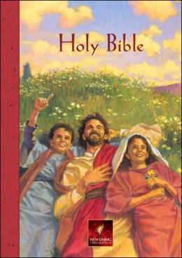 Children's Bible, Personal Edition: New Living Translation (NLT), red hardcover