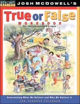 True or False Workbook: younger children