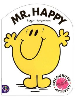 Mr. Happy: Coloring and Activity Book (Mr. Men and Little Miss Series)