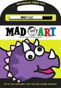 Dinosaurs Mad Art