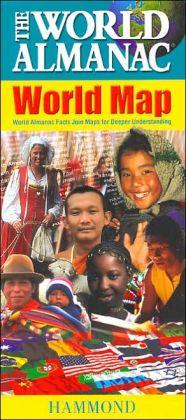 World Almanac World Map 2007