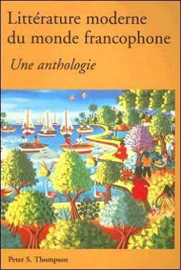 Litterature moderne du monde francophone