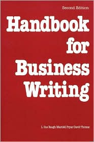 Handbook for Business Writing