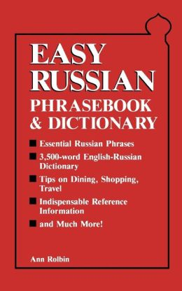 Easy Russian Phrasebook and Dictionary