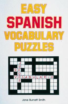 Easy Spanish Vocabulary Puzzles
