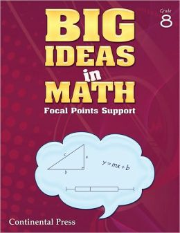 Math Workbook: Big Ideas in Math, Grade 8 Student Workbook