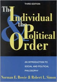The Individual and the Political Order: An Introduction to Social and Political Philosophy