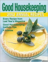 Good Housekeeping Annual Recipes 2002