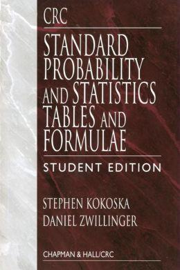 Standard Probability and Statistics
