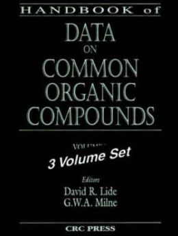 Handbook of Data on Common Organic Compounds