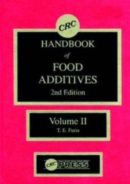 CRC Handbook of Food Additives, Second Edition, Volume II