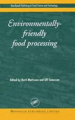 Environmentally Friendly Food Processing