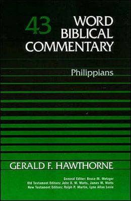 Word Biblical Commentary: Philippians