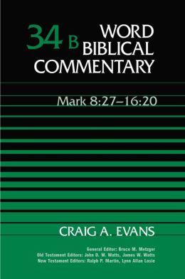 Mark 8:27-16:20
