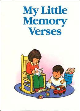 My Little Bible Series: My Little Memory Verses