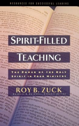 Spirit-filled Teaching: The Power of the Holy Spirit in Your Ministry