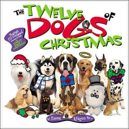 The Twelve Dogs of Christmas Board Book