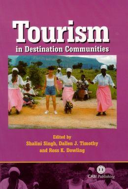 Tourism in Destination Communities
