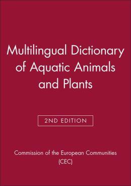 Multilingual Dictionary of Aquatic Animals and Plants