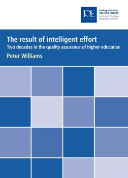 The Result of Intelligent Effort: Two Decades in the Quality Assurance of Higher Education