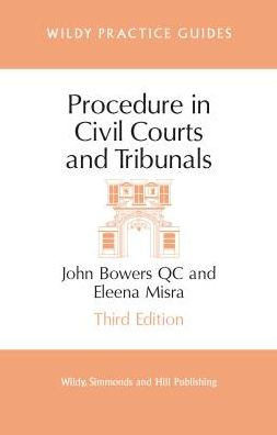 Procedure in Civil Courts and Tribunals