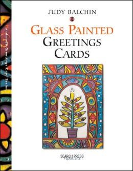 Glass Painted Greeting Cards