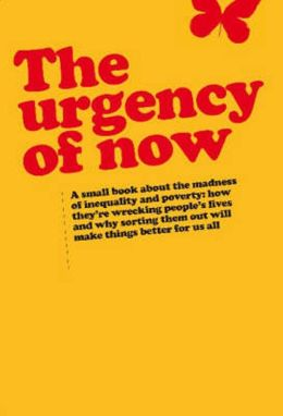 Urgency of Now: A Small Book about the Madness of Inequality and Poverty: How They're Wrecking People's Lives and Why Doing Something