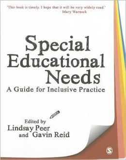 Special Educational Needs: A Guide for Inclusive Practice