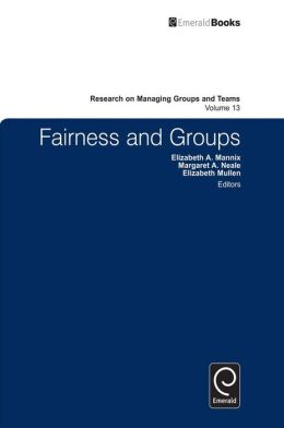 Fairness and Groups