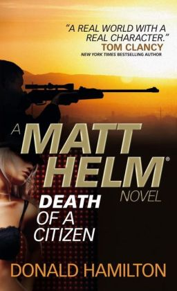 Death of a Citizen (Matt Helm Series #1)