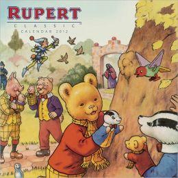 2012 Classic Rupert Wall Calendar