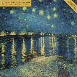 2012 Van Gogh Wall Calendar